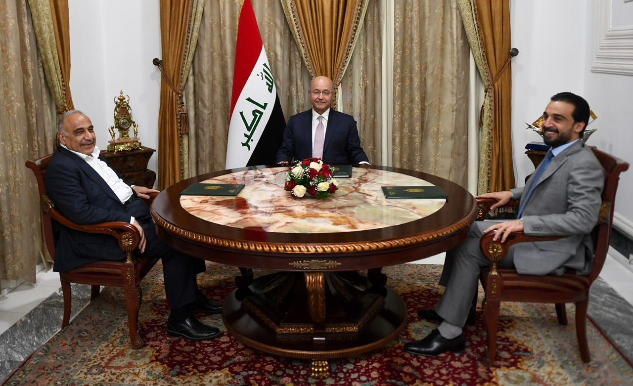 بالأسماء .. خبير قانوني يحدد بدلاء الرئاسات الثلاث العراقية في حال استقالتها