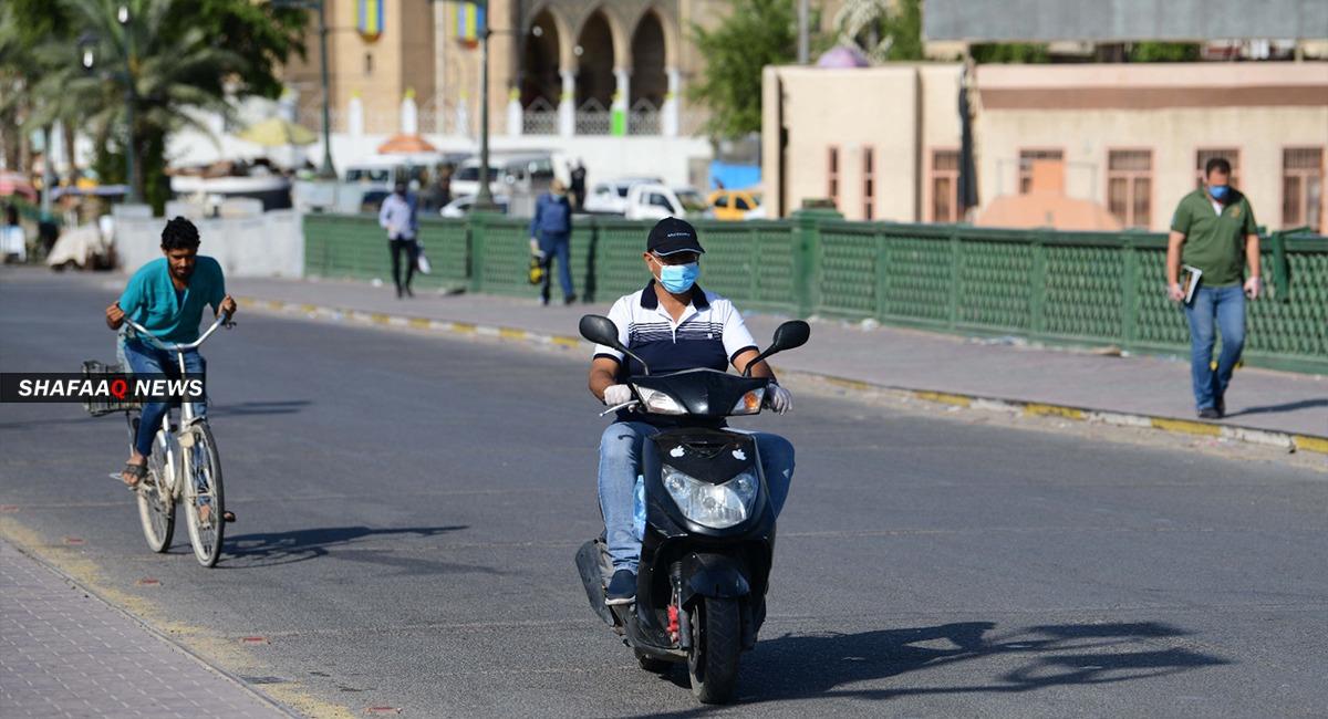 العراق يواصل انخفاض الاصابات والوفيات بكورونا