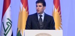 بارزاني يوجه رسالة لبغداد: مستعدون لدراسة اي مادة دستورية متعلقة بالاقليم فمصيرنا واحد