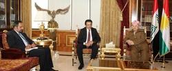 اوضاع العراق على طاولة مباحثات مسعود بارزاني والقنصل الكويتي في اربيل