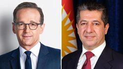 الخارجية الالمانية مهنئة مسرور بارزاني: سنبقى شريكا موثوقا به مع كوردستان