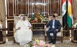قطر تبحث الاستثمار في اقليم كوردستان وتبدي اعجابا بالتطور