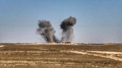"""الاطاحة بـ١٩ عنصرا من """"داعش"""" بقصف دولي قرب اربيل"""