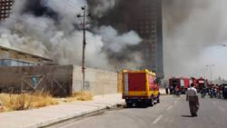 اندلاع حريق في مستشفى بدهوك والدفاع المدني يخلي المرضى والعاملين