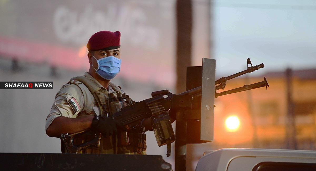 فيديو.. قوة امنية تقتل انتحاريين داخل مسجد غربي الرمادي