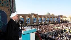 روحاني: الاحتجاج من حق الشعب لكن يجب أن لا يسمح بعدم الاستقرار في البلاد