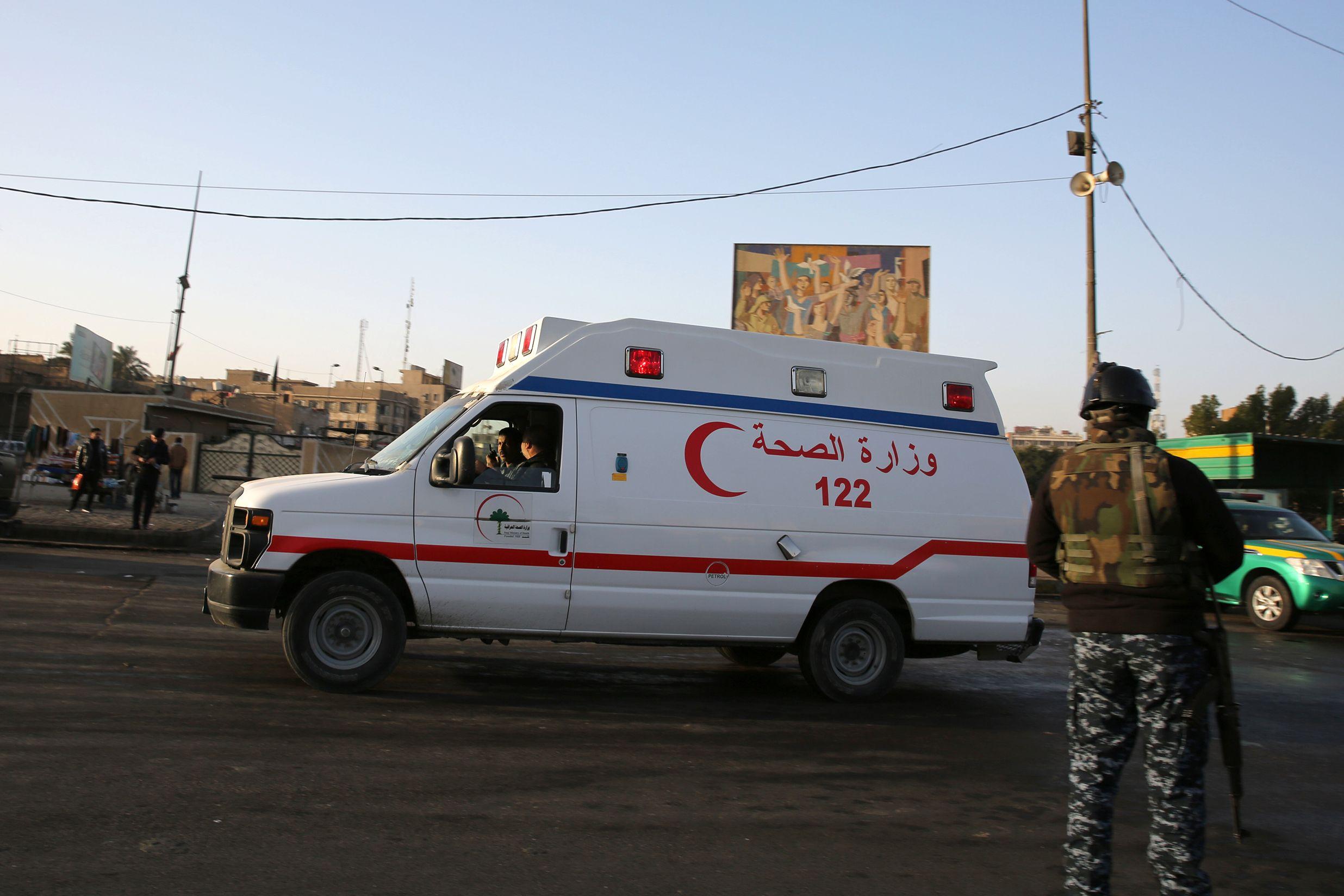 السلطات العراقية تعلن مقتل 12 شخصا واصابة 5 اخرين بتفجير مدخل كربلاء