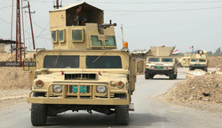 Two Iraqi forces injured by roadside bomb explosion in Kirkuk