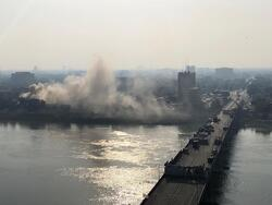 وزارة الدفاع تفصح عن حقيقة حريق اندلع في مبناها