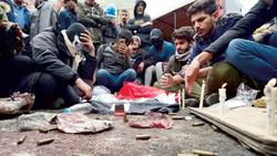 """موجة غضب عارمة في العراق واتهام فصيل مسلح بتنفيذ """"مجزرة"""""""