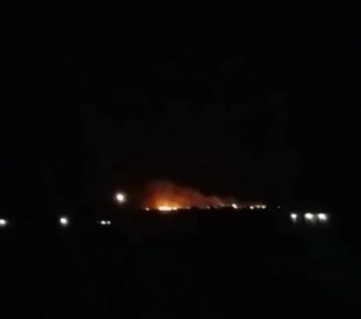 مجهولون يضرمون النيران في حقول بمحافظة عراقية