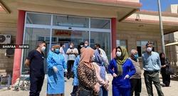 كوادر صحية في السليمانية تعلن إضرابًا مفتوحا لتأخر صرف رواتبها