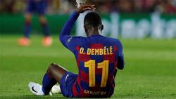 الإصابة تحرم ديمبلي من الكلاسيكو وتنهي عامه مع برشلونة