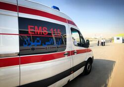 اصابة 25 شخصا وانهيار بمنازل جراء زلزال ايران