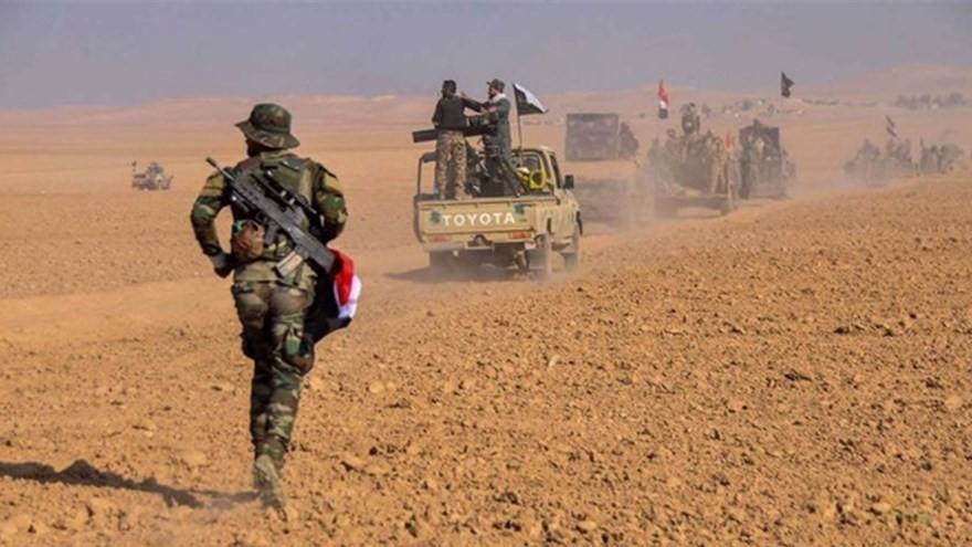 مقتل واصابة 7 من الحشد الشعبي بانفجارين في نينوى
