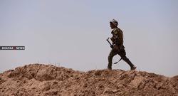 """نينوى.. صد تحركات لمجموعة """"ارهابيين"""" وقصف دولي يستهدف انفاقهم"""