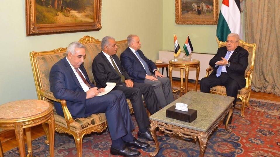 """العراق يبلغ فلسطين موقفه من """"صفقة القرن"""""""
