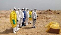 دفن 111 متوفيا بكورونا في العراق خلال 24 ساعة