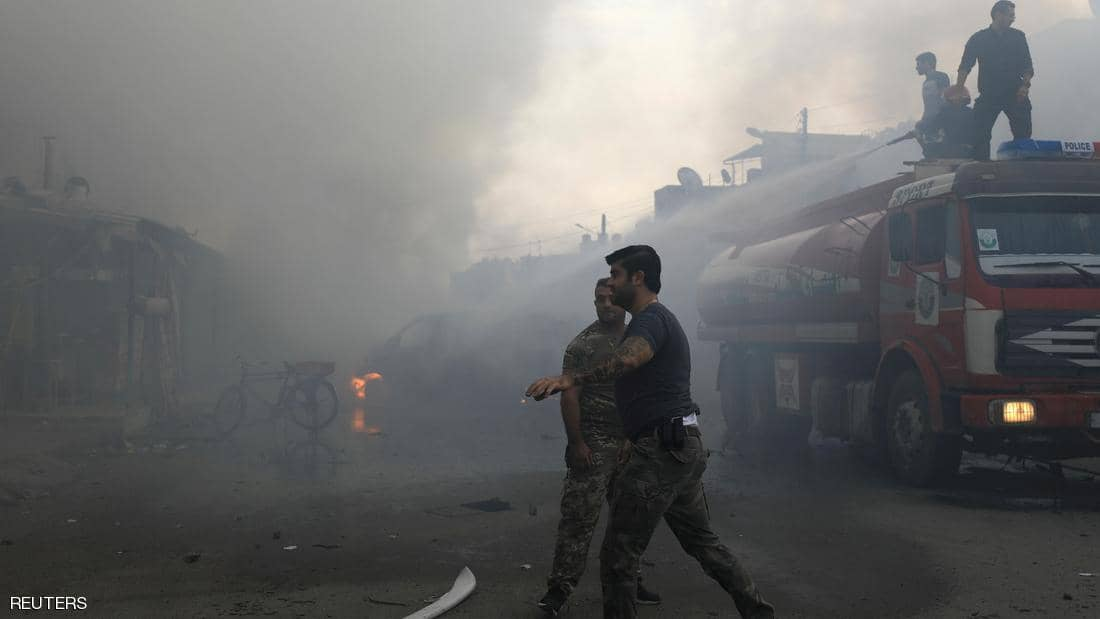 A strong explosion takes place in Qamishli city