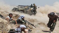 سقوط ضحايا من الحشد في هجمات لداعش في ديالى وصلاح الدين