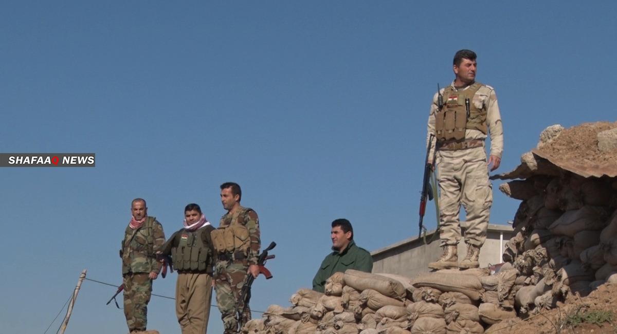 """البيشمركة ترد بـ""""قوة"""" على رشقات رصاص أطلقها مقاتلو العمال الكوردستاني"""
