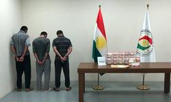 الاسايش تقبض على ثلاثة ايرانيين بحوزتهم أكثر من 8 كغم من المخدرات