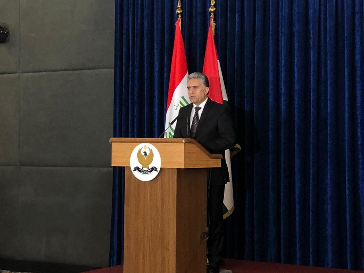 اقليم كوردستان يمدد الحظر 10 ايام اخرى