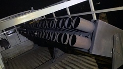 سقوط عشرة صواريخ كاتيوشا داخل معسكر قرب بغداد