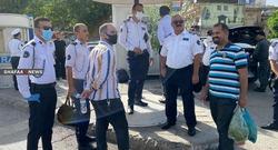 بعد كوادر الصحة.. شرطة المرور يحتجون على تأخر الرواتب في السليمانية