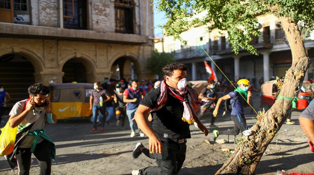 عمليات بغداد: لم يقتل أي متظاهر خلال اليومين الماضيين