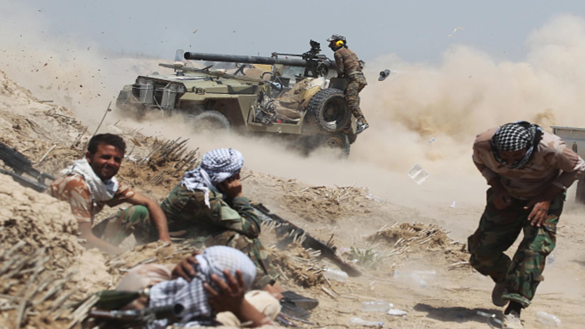 حەشد دەسنەێدە بان کامپ سەربازییگ ک داعش وەکاری هاوردیاد