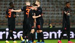 يونايتد يكتسح لاسك بخماسية في الدوري الاوروبي