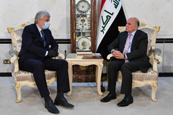 The Iraqi Minister of foreign affairs receives an official invitation to Russia