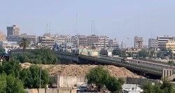 صور .. بعد ليلة دامية تمركز متظاهرين عند جسر ثان وسط بغداد والاحتجاجات تتواصل