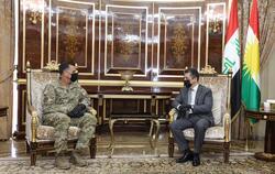 بارزاني: قلقون من تصاعد نشاط داعش ومهاجمة الفلاحين الكورد وخطفهم