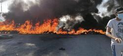اضرام نيران وقطع طرق .. ثلاث تظاهرات غاضبة جنوبي العراق ضد الكهرباء