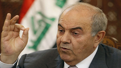 """علاوي يحدد شروط """"نزاهة واستقلالية"""" الانتخابات العراقية"""