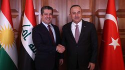 بارزاني يبلغ تركيا رفض اقليم كوردستان لتواجد الـpkk  في سنجار وباقي المناطق