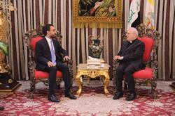 الحلبوسي وساكو يبحثان عدة ملفات تخص المسيحيين في العراق