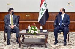 نيجيرفان بارزاني يوجه دعوة للمالكي لزيارة اقليم كوردستان