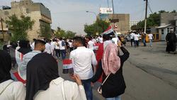 اعتصام طلبة واضراب عن الدوام بمحافظتين