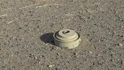 العثور على كدس كبير للألغام في دهوك