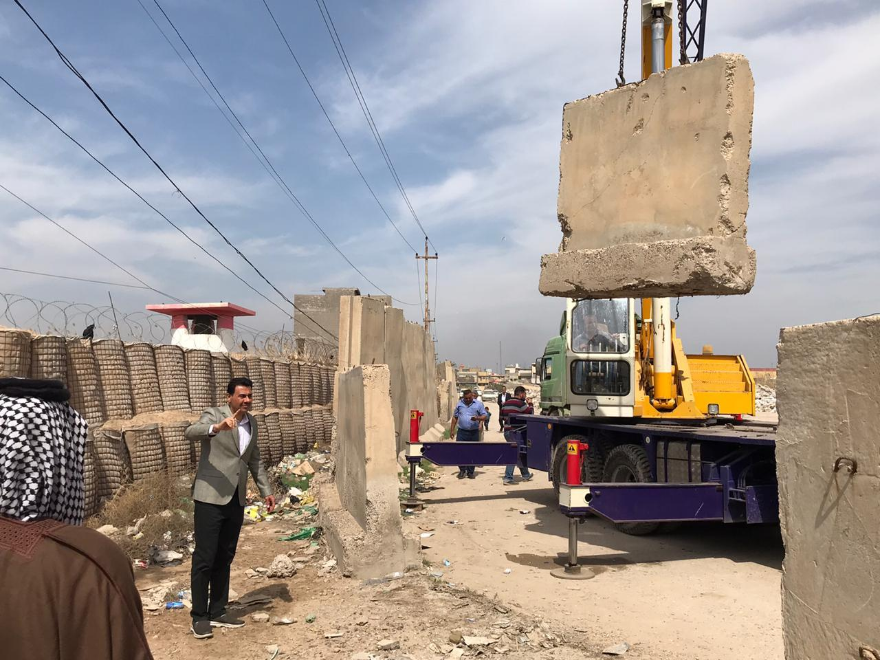 Baghdad reopens a closed road for 17 years